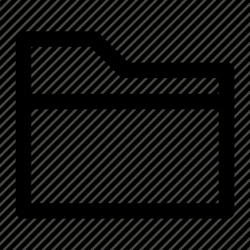 business, chart, finance, folderfile, line icon