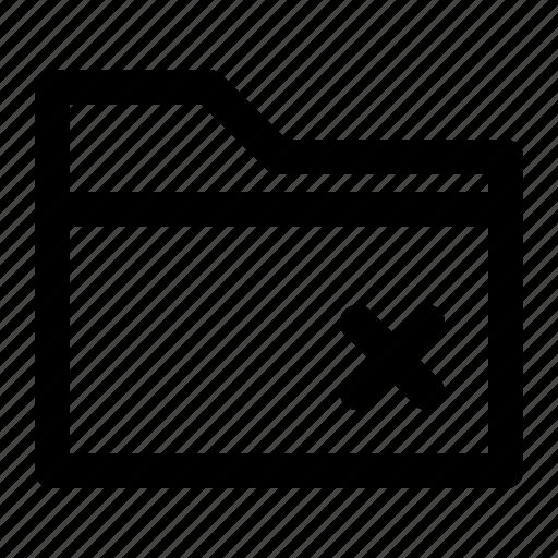 business, chart, fail, finance, folderfile, line icon
