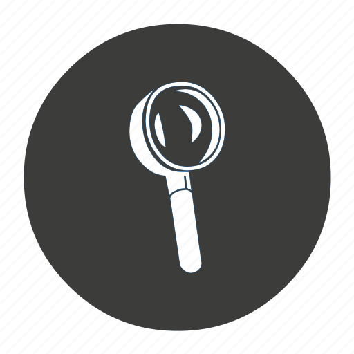 explore, explorer, find, glass, inspect, investigate, locate, look, magnifier, magnifying, research, search, view, zoom icon