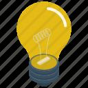 big idea, excellent idea, idea, innovative idea, light bulb icon