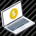 banking app, ebanking, online banking, online financial business, online money transaction icon