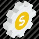 financial management, financial options, financial setting, money configuration, money management icon