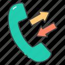 call history, call log, call menu, dialed call, incoming call, outgoing call, received call icon