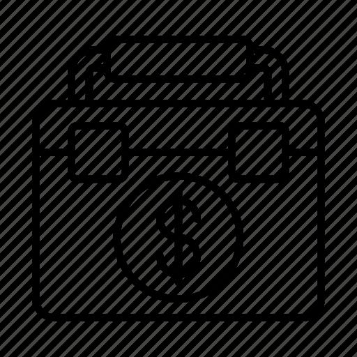 Business, cash, dollar, finance, money, work icon - Download on Iconfinder