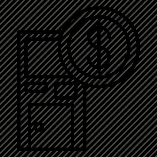 Atm, business, cash, finance, money, work icon - Download on Iconfinder