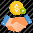 agreement, deal, handshake