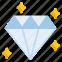 diamond, golden, jewelry icon