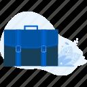 briefcase, business, document, management, office, portfolio