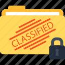 classified, folder, lock, locked