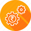 gear, management, marketing, money, optimization, seo icon