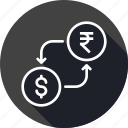 conversion, currency, dollar, exchange, indian, money, rupee