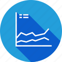 analysis, business, graph, growth, periodic, statics icon