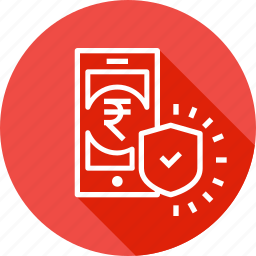 electronic, mobile, money, payment, secure, transaction icon