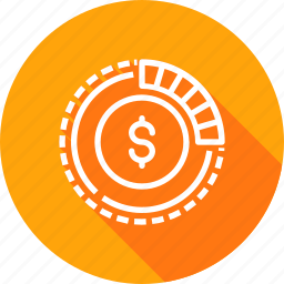 american, business, currency, dollar, finance, money icon