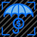 umbrella, investment, money, finance
