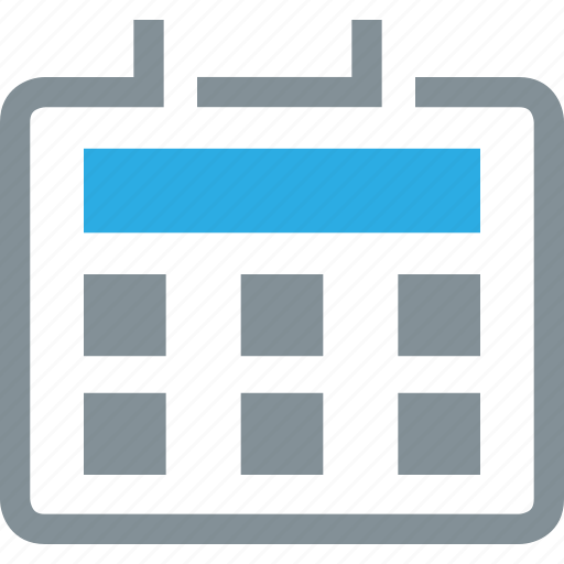 Calendar Icon Png Blue : Business and finance by iconpack