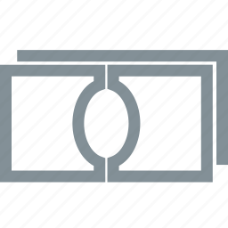 cash, currency, dollar, financial, money, notes, payment icon