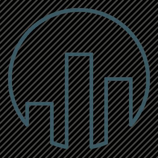 analysis, bar, chart, column, graph, statistics icon