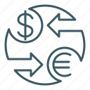 exchange, finance, forex, money, trade, transaction icon