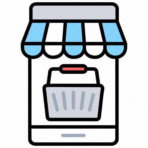 digital commerce, digital helpline, online dealings, online finance, virtual business icon