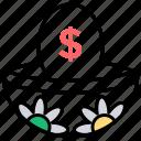 earnings, financial plan, retirement funds, retirement plans, savings icon