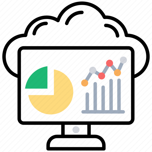 budgeting report, business management, data analysis, data observation, financial report icon