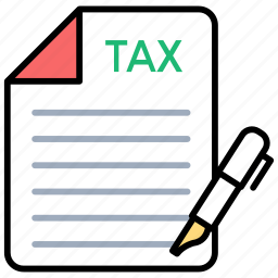invoice, reports, tax papers, tax records, tax reports icon