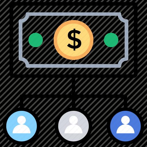 budgeting, deposit, making budget, managing funds, saving icon