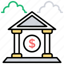 bank, fundings, investment, savings, savings account icon