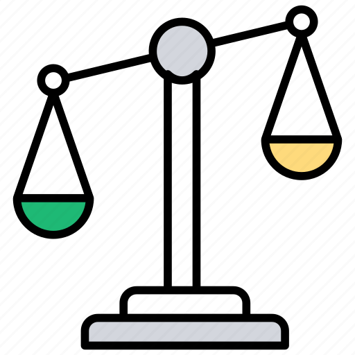 balance, balancing, balancing device, weighing, weights icon