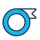 band, duct, ribbon, tape, tapes icon
