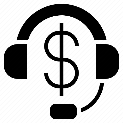 client help, client service, customer service, help line, paid call, paid service icon