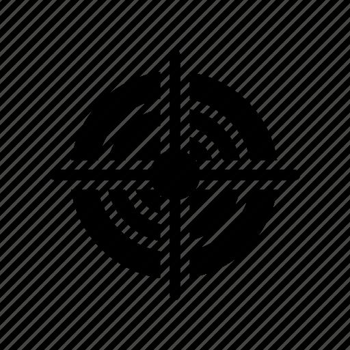 achievement, aim, focus, goal, target icon
