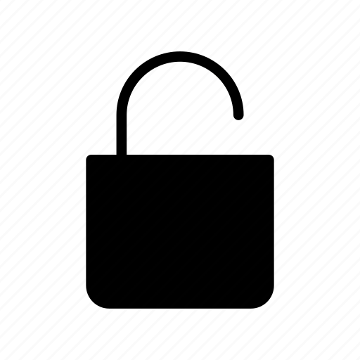 access, open, protect, unlock, unsecured icon