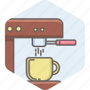 machine, coffee, maker, tea, drink, beverage