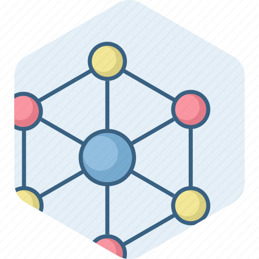 connection, internet, link, media, network, social icon