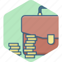 bag, business, currency, finance, financial, money, payment icon