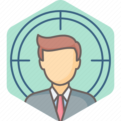 avatar, employee, male, man, profile, target, user icon