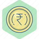 cash, currency, finance, indian, money, rupee, rupees icon
