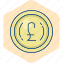 british, business, currency, finance, money, pound, sign icon