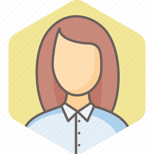 business, business woman, businesswoman, girl, lady, profile, user icon