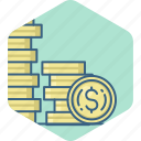 budget, business, currency, dollar, finance, investment, money icon