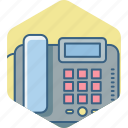 caller id, communication, landline, phone, telefax, telephone icon