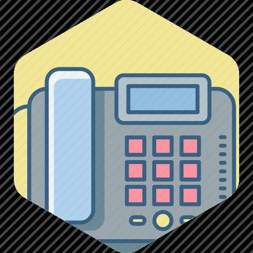 caller id, communication, landline, phone, telefax, telephone icon