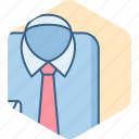 clothes, clothing, fashion, formal, male, man, shirt icon