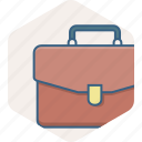 bag, briefcase, business, business case, office, portfolio icon