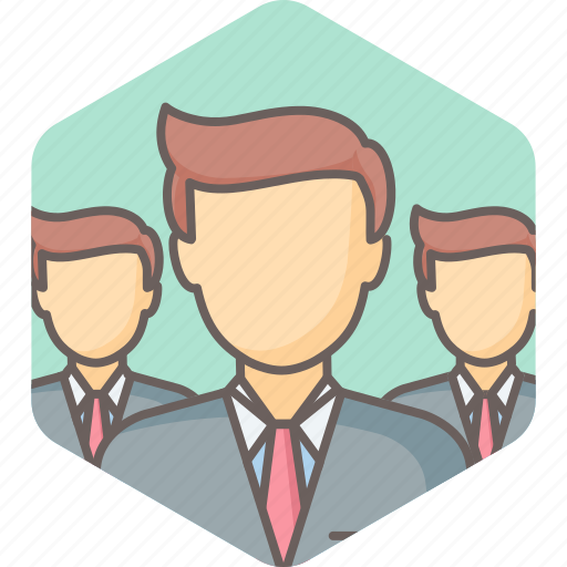 business, businessman, group, management, people, team, users icon