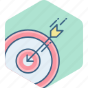 achievement, aim, dartboard, goal, shoot, shooting, target icon