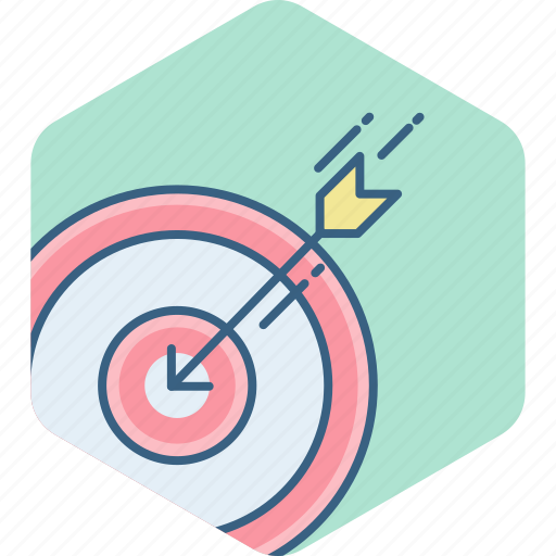achievement, aim, dartboard, goal, shoot, shooting, target icon