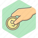 cashback, coin, dollar, guardar, money, payment, save, savings icon